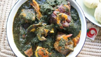 Learn How to prepare Edo Black Soup in 3 minutes